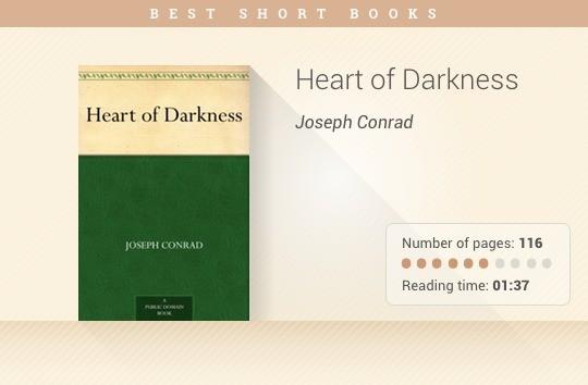 Best short books - Heart of Darkness - Joseph Conrad