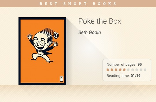 Best short books - Poke the Box - Seth Godin