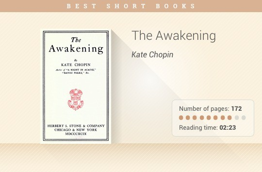 Best short books - The Awakening - Kate Chopin