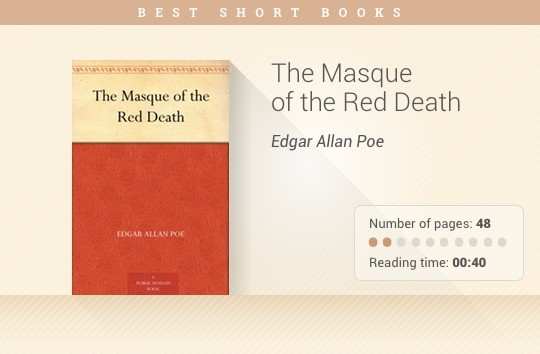 Best short books - The Masque of the Red Death - Edgar Allan Poe