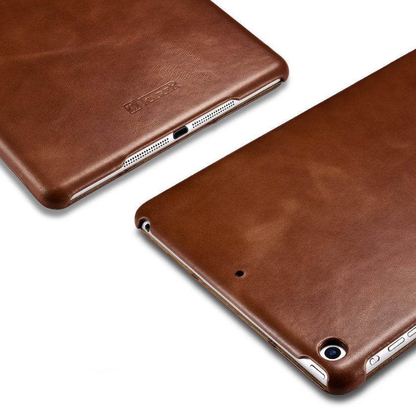 Icarecase Genuine Leather Vintage Case for iPad 9.7