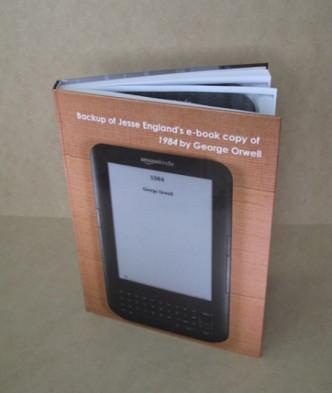 Kindle ebook backup - art project