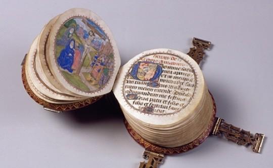 Miniature round book - picture 1