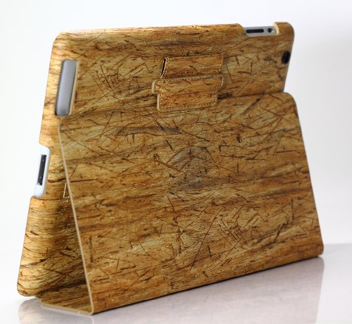 Minji Design Cork Grain Hard Case for iPad 4, 3, and 2