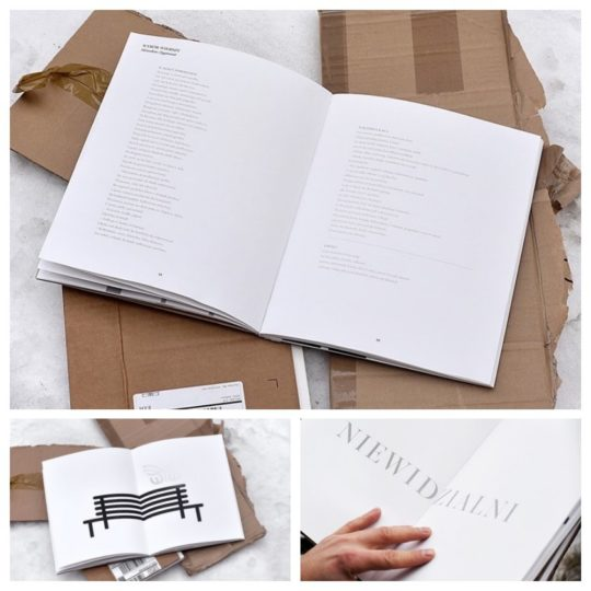 Most creative books - a book that can be read only when it is cold outside