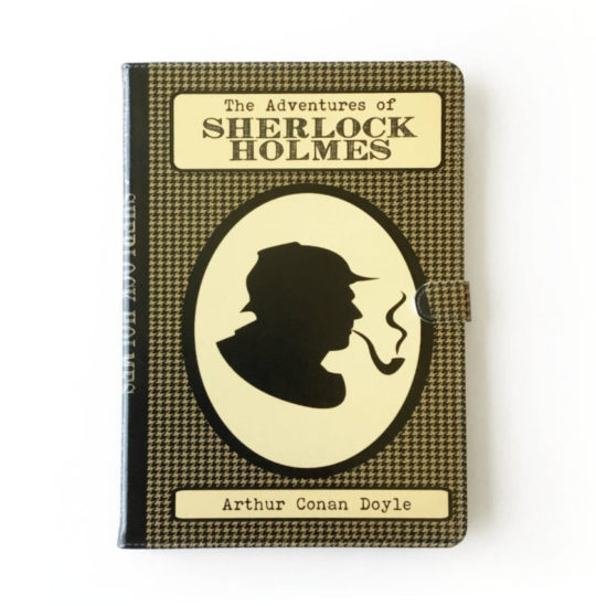 Sherlock Holmes iPad Folio Case - all current models