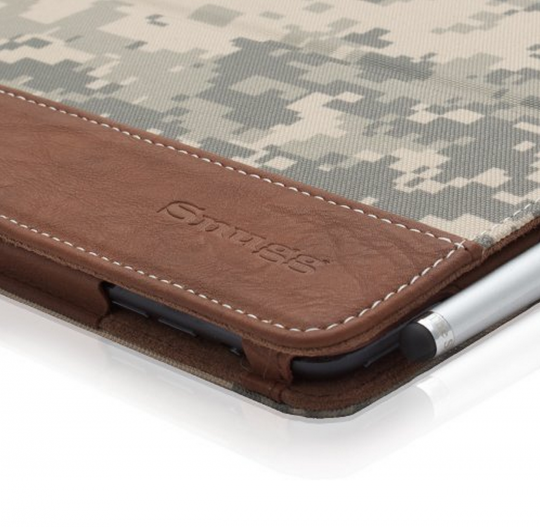 Snugg Desert Camouflage Folio Case for iPad Mini