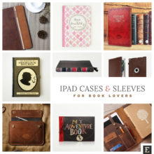 12 iPad case covers and sleeves for a book nerd