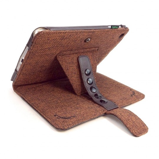 Tuff-Luv Multi-View Hemp Case Cover for iPad Mini