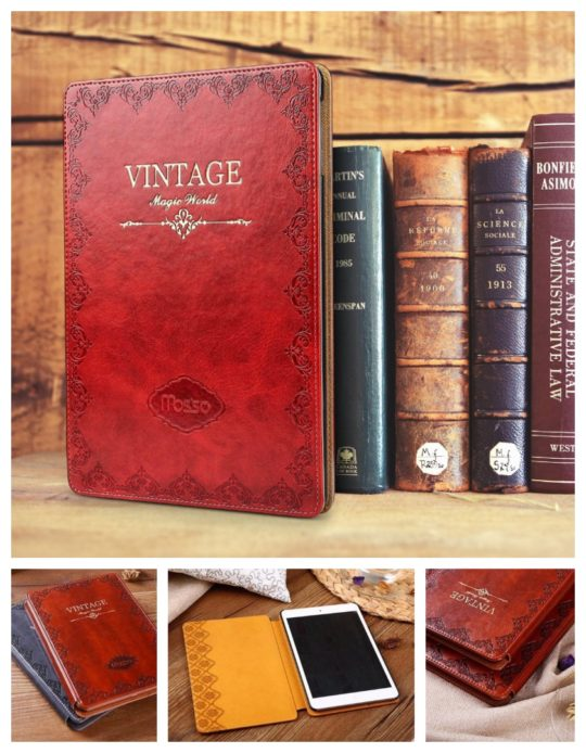 Vintage Book iPad Case Cover