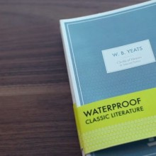 Bibliobath - a series of classic books printed on waterproof paper