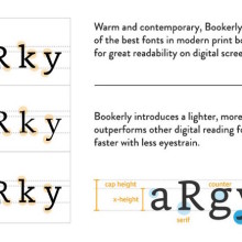 Bookerly font is offered in Kindle Paperwhite 2015
