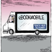 E-bookmobile #cartoon
