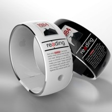 Farago Design - reading app on a smartwatch - picture 1