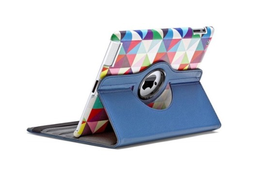 360-degree rotating stand cover for iPad 9.7-inch