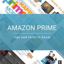 Amazon Prime tips and facts