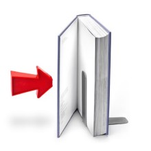 Arrow magnetic bookends - the mechanism