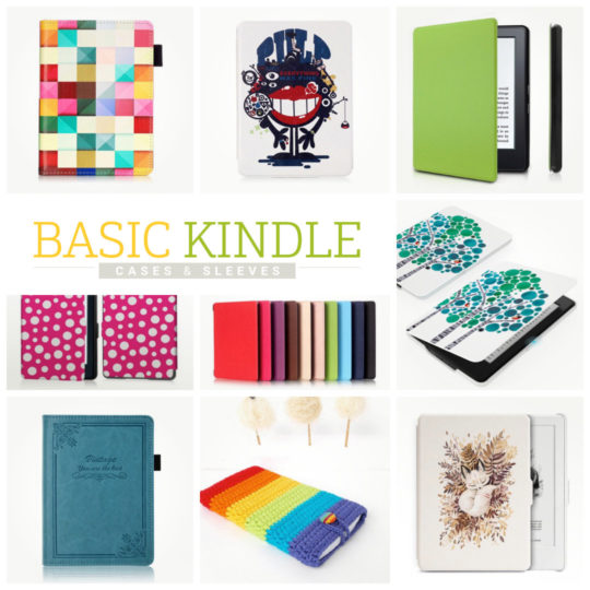 Basic Kindle cases, covers, and sleeves