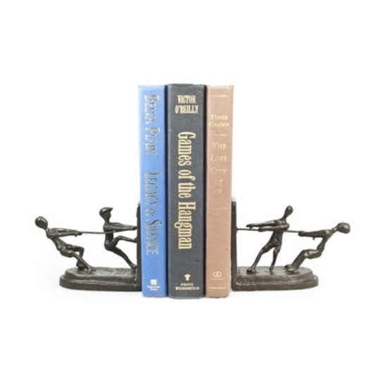 Children Playing bookends