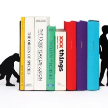 Evolution bookends - front