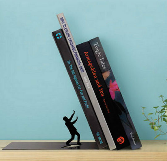 Falling bookend - literary gifts for book nerds