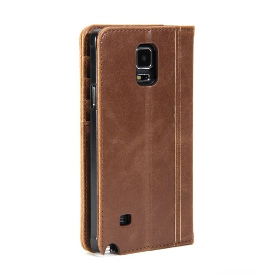 Gifts for book lovers: Gmyle Book Case Vintage for Samsung Galaxy Smartphones