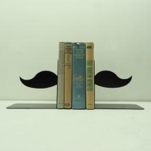Knob Creek Metal Arts bookend - Split Mustache
