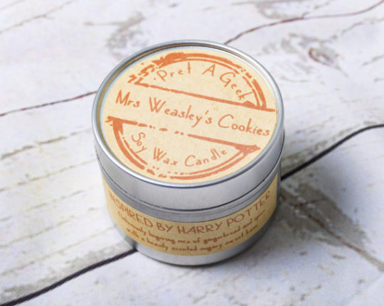 Mrs Weasley's Cookies Scented Candle