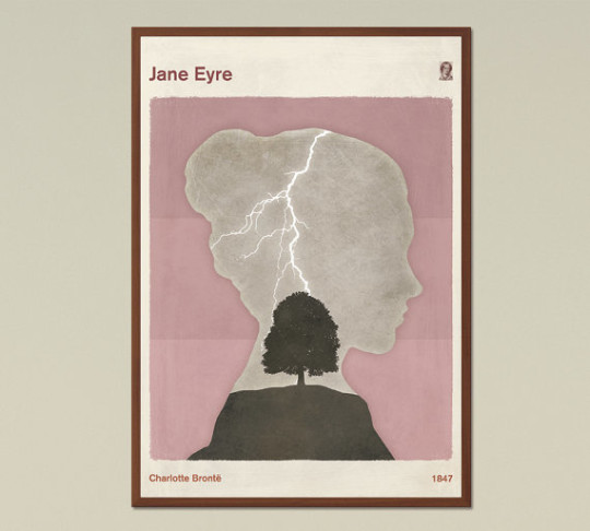 Red Hill book posters - Jane Eyre