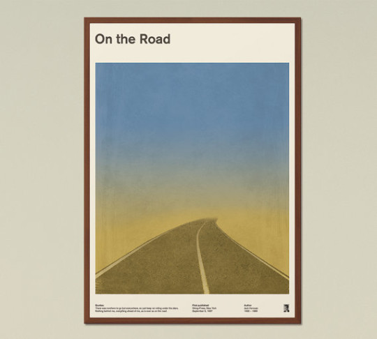 Red Hill book posters - On the Road