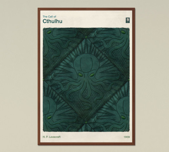 Red Hill book posters - The Call of Cthulhu