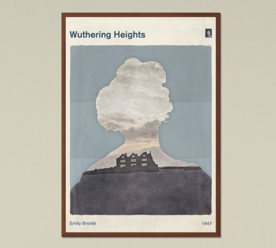 Red Hill book posters - Wuthering Heights
