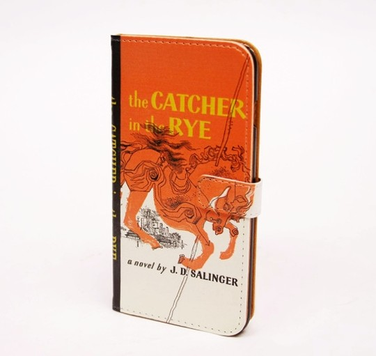 Gifts for book lovers: The Catcher in the Rye Phone Case