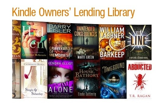Tips on how to find books included in the Kindle Owners Lending Library