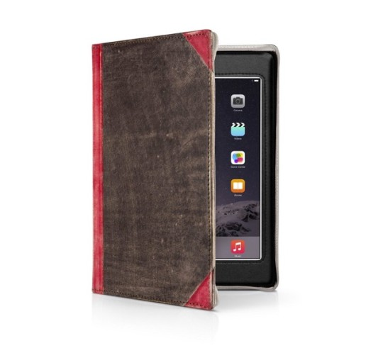 Twelve South BookBook for iPad - Vibrant Red