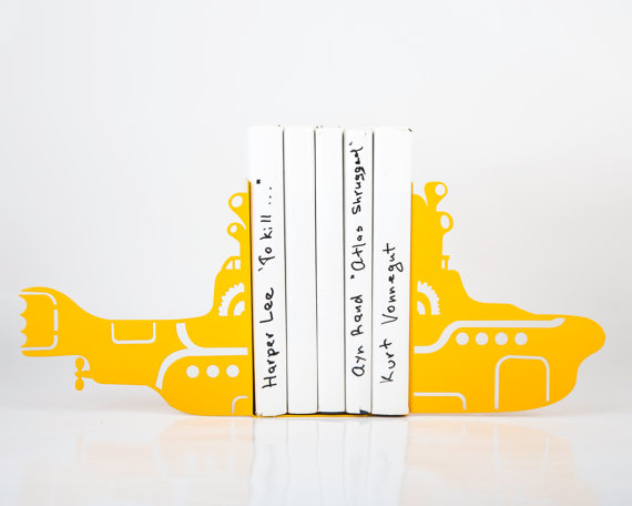 Yellow Submarine bookend