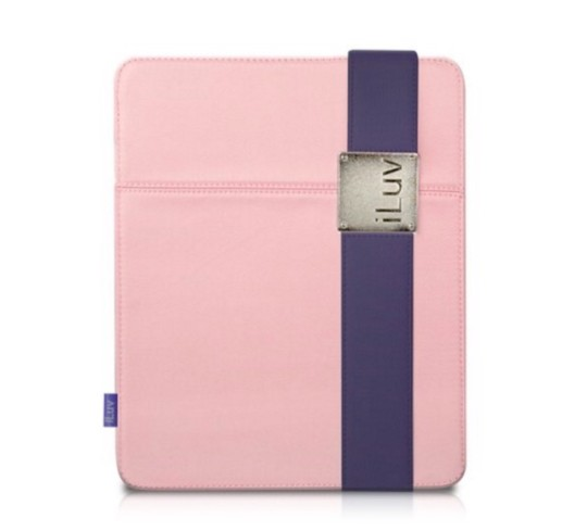 iLuv Casual Fabric Case with Band Clip for Apple iPad 4, 3, 2