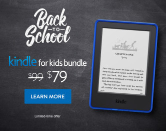 2015 back to school deal for Kindle for Kids Bundle - $20 off