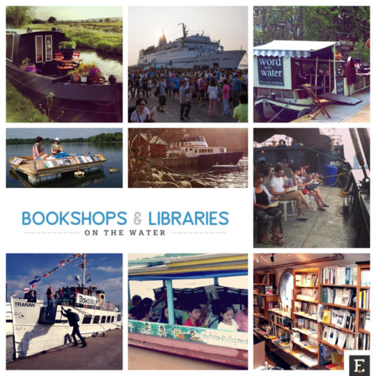 Best libraries and bookshops on the water