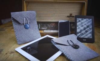DIY felt case for your Kindle or iPad