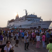 Logos Hope arrives in Taiwan welcoming 30 thousand people on board