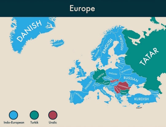 Second languages around the world - Europe