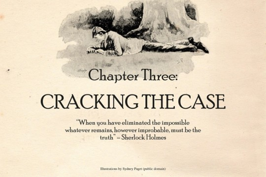 Sherlock Holmes chart 10 - Cracking the Case