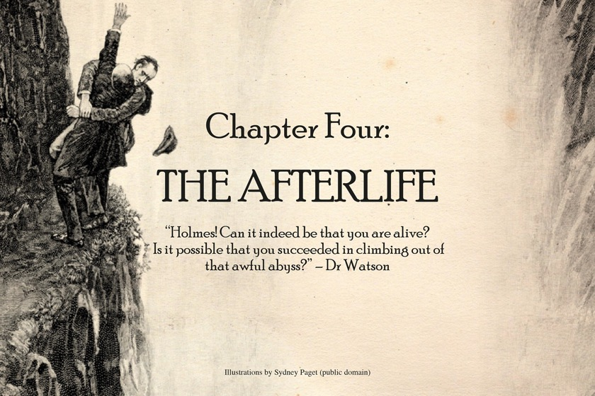 Sherlock Holmes chart 14 - The Afterlife