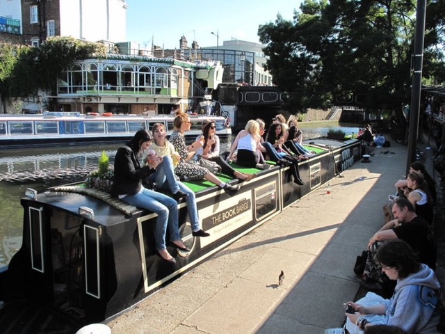 The Book Barge in London