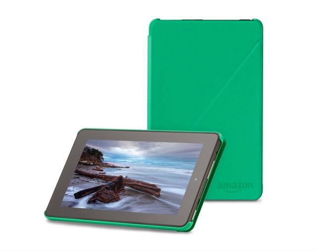 Amazon Fire 7 - original case in green