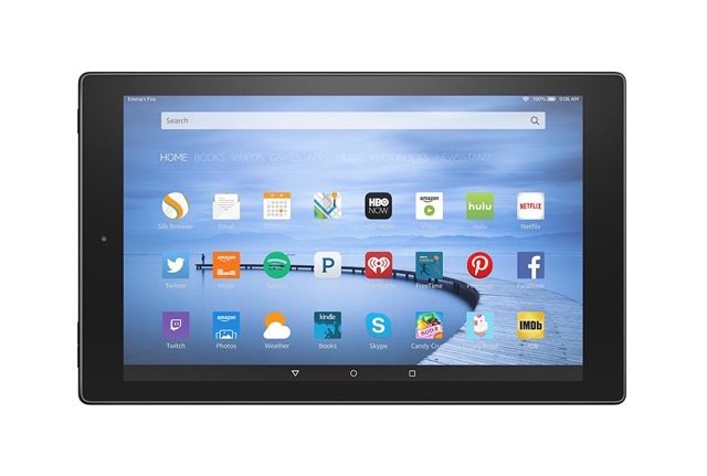 Amazon Fire HD 10 - front