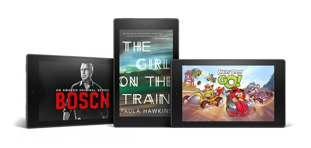 Amazon Fire HD 8 - movies ebooks games