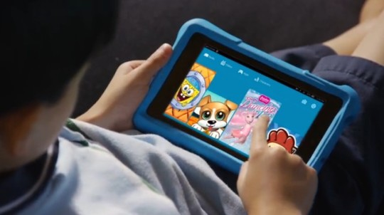 Amazon Fire Kids Edition - reading ebooks