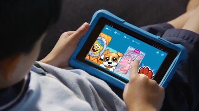Amazon Fire Kids Edition - reading ebooks